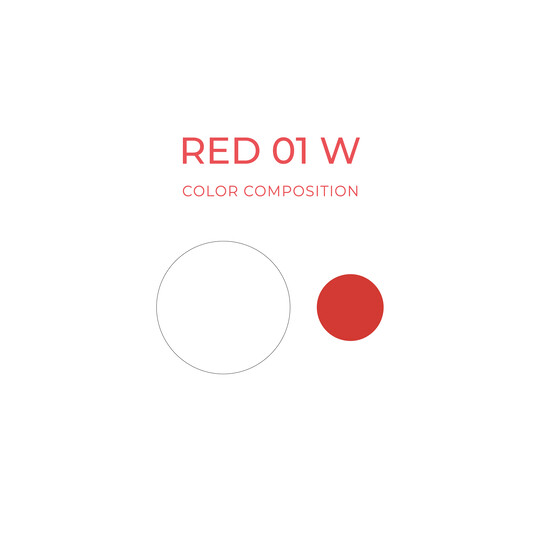 Red 01 W (10ml) image number null